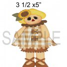 Scarecrow Girl -  Printed Paper Piece