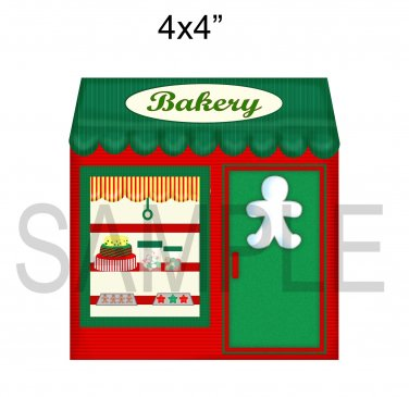 Bakery -  Printed Paper Piece