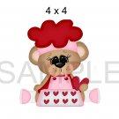 True Love 5a right -  Printed Paper Piece