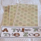 A Trip To The Zoo - 4pc Mat Set