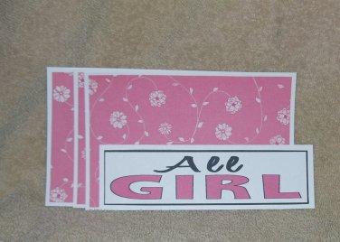 All Girl - 4pc Mat Set
