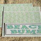 Beach Bums - 4pc Mat Set