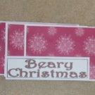 Beary Christmas - 4pc Mat Set