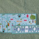Bow Wow - 4pc Mat Set