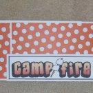 Campfire - 4pc Mat Set
