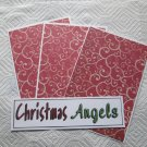 Christmas Angels a - 4pc Mat Set