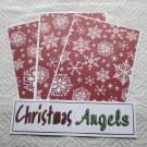 Christmas Angels - 4pc Mat Set