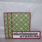 Christmas Stocking - 4pc Mat Set