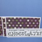 Forget Love..Chocolate - 4pc Mat Set