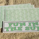 Fun In The Sun - 4pc Mat Set