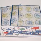 Happy New Years - 4pc Mat Set