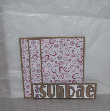 Ice Cream Sundae - 4pc Mat Set