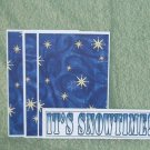 It's Snowtime - 4pc Mat Set