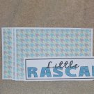 Little Rascal a - 4pc Mat Set