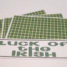 Luck Of The Irish - 4pc Mat Set