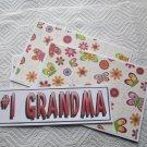 #1 Grandma - 4pc Mat Set