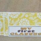 My First Glasses - 4pc Mat Set