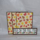 Pile On The Fall Fun a - 4pc Mat Set