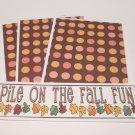 Pile On The Fall Fun - 4pc Mat Set