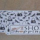 Shoe Shopping - 4pc Mat Set