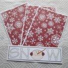 Snow Snowman - 4pc Mat Set