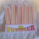 Summer - 4pc Mat Set