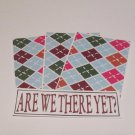 Are We There Yet? - 4pc Mat Set