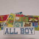 All Boy - 4pc Mat Set