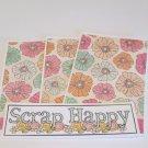 Scrap Happy - 4pc Mat Set