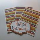 Happy Halloween 2 - Title/Saying Mat Set
