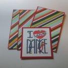 I Love Dance - Title/Saying Mat Set