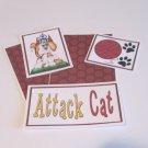 Attack Cat a - 5 piece mat set