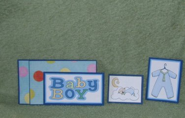 Baby Boy - 5 piece mat set