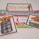 Baking Cookies Joy b - 5 piece mat set