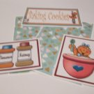 Baking Cookies Joy - 5 piece mat set