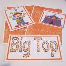 Big Top Boy a - 5 piece mat set