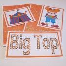 Big Top Girl a - 5 piece mat set