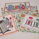 Bingo - 5 piece mat set