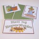 Bless My Bloomin Garden - 5 piece mat set