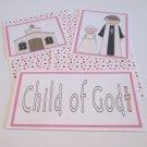 Child Of God Girl - 5 piece mat set