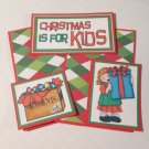 Christmas Is For Kids Girl - 5 piece mat set
