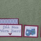Cold Nose Warm Heart - 5 piece mat set