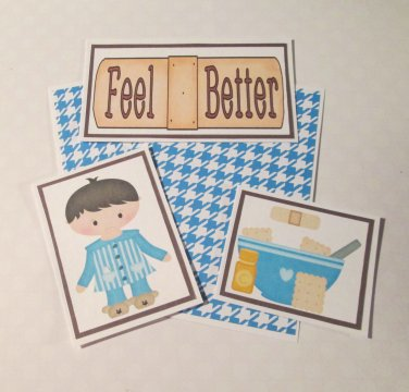 Feel Better Boy - 5 piece mat set