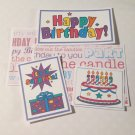 Happy Birthday - 5 piece mat set