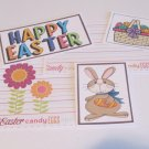 Happy Easter Brown Bunny - 5 piece mat set