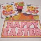 Happy Easter Chicks a - 5 piece mat set