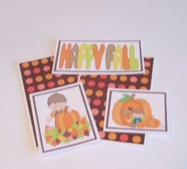 Happy Fall Boy - 5 piece mat set