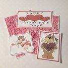 Happy Valentine's Day - 5 piece mat set