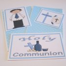 Holy Communion Boy a - 5 piece mat set