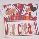 Ice Cream Boy a - 5 piece mat set
